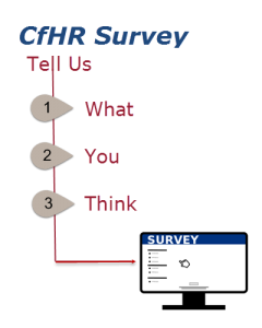 Survey Graphic: CfHR survey